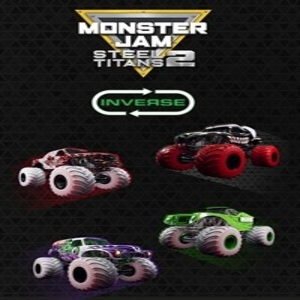 Monster Jam Steel Titans 2 Inverse Truck Pack