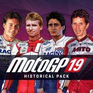 MotoGP 19 VIP Historical Pack Ps4 Digital & Box Price Comparison