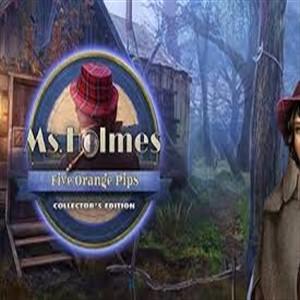 Ms Holmes Five Orange Pips