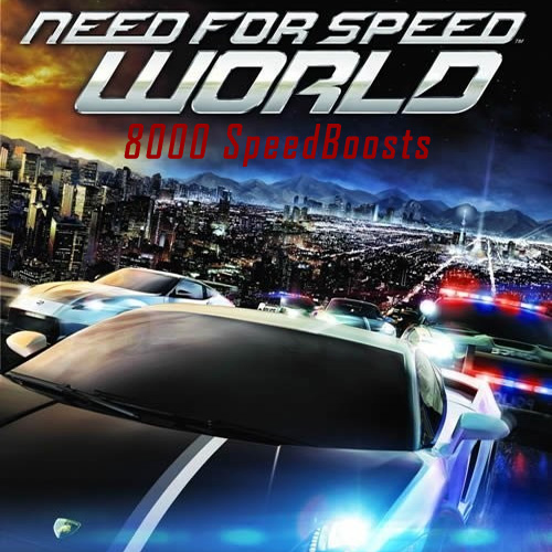 Need for Speed World 8000 SpeedBoosts Digital Download Price Comparison