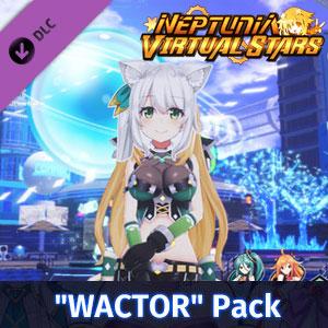 Neptunia Virtual Stars WACTOR Pack