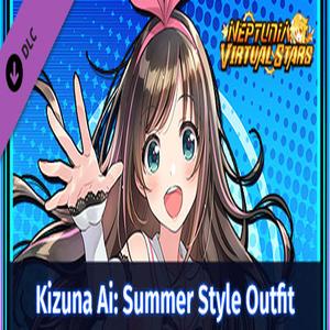 Neptunia Virtual Stars Kizuna AI Summer Style Outfit