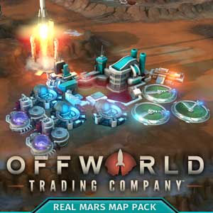Offworld Trading Company Real Mars Map Pack