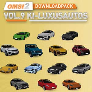 OMSI 2 Add-on Downloadpack Vol. 9 KI-Luxusautos Digital Download Price Comparison