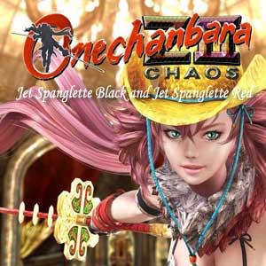 Onechanbara Z2 Chaos Jet Spanglette Black and Jet Spanglette Red Digital Download Price Comparison