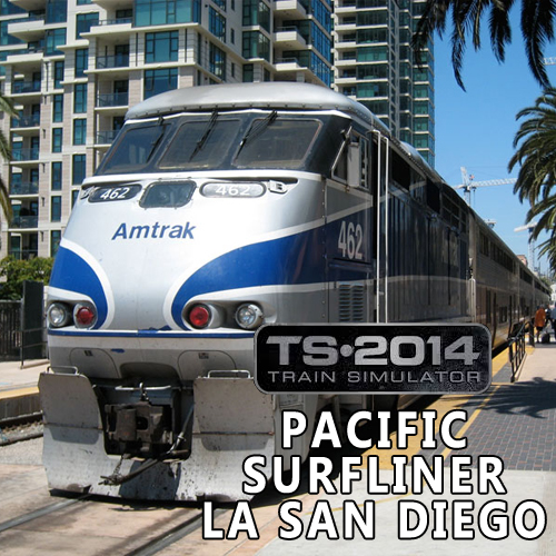 Train Simulator Pacific Surfliner LA San Diego Digital Download Price Comparison