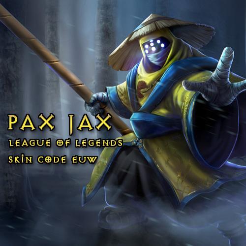 Pax Jax Skin League Of Legends EU West Gamecard Code Price Comparison