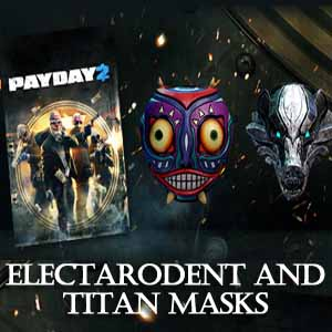 PAYDAY 2 Electarodent and Titan Masks Digital Download Price Comparison
