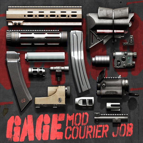 PAYDAY 2 Gage Mod Courier Digital Download Price Comparison