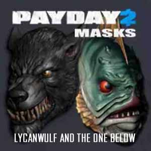 PAYDAY 2 Lycanwulf and The One Below Masks Digital Download Price Comparison