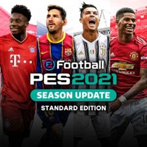PES 2021 Season Update Xbox Series X Price Comparison