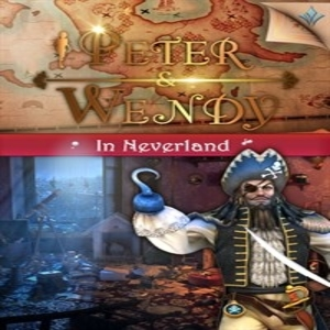Peter and Wendy in Neverland
