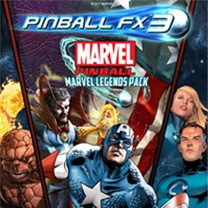 Pinball FX3 Marvel Pinball Marvel Legends Pack