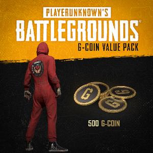 Playerunknowns Battlegrounds G-Coin Value Pack