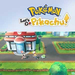 Pokemon Lets Go, Pikachu!