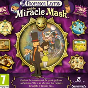Buy Professor Layton and the Miracle Mask Nintendo 3DS Download Code Compare Prices