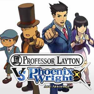 Buy Professor Layton vs Phoenix Wright Ace Attorney Nintendo 3DS Download Code Compare Prices