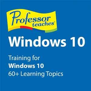 Professor Teaches Windows 10 Digital Download Price Comparison