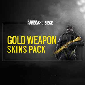 Rainbow Six Siege Gold Weapons Skin Pack