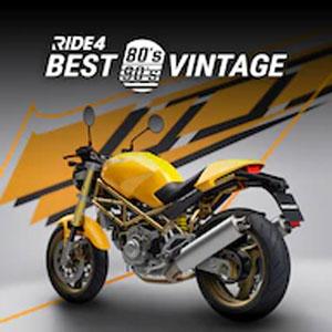 RIDE 4 Best Vintage 80's-90's