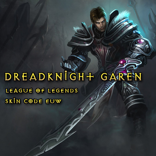 Riot Dreadknight Garen League Of Legends Skin EUW Gamecard Code Price Comparison