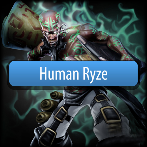 Riot Human Ryze League Of Legends Skin Gamecard Code Price Comparison