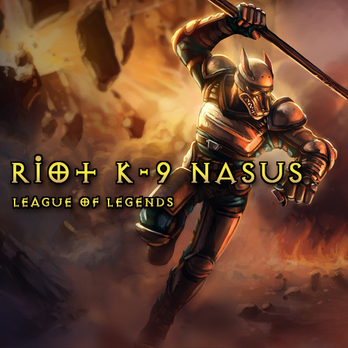 Riot K-9 Nasus League Of Legends Skins Gamecard Code Price Comparison