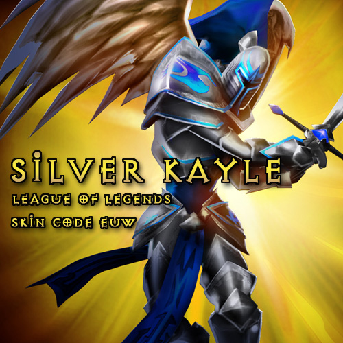 Riot Silver Kayle League Of Legends Skin EUW Gamecard Code Price Comparison