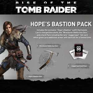 Rise of the Tomb Raider Hopes Bastion Outfit Pack Digital Download Price Comparison