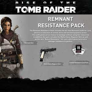 Rise of the Tomb Raider Remnant Resistance Pack Outfit Pack Digital Download Price Comparison