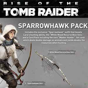 Rise of the Tomb Raider The Sparrowhawk Pack