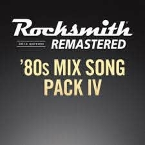Rocksmith 2014 80s Mix Song Pack 4