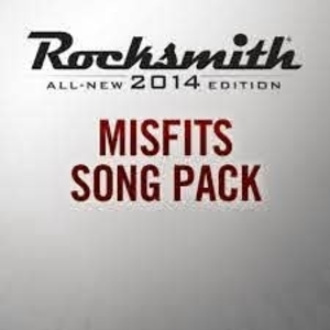 Rocksmith 2014 Misfits Song Pack