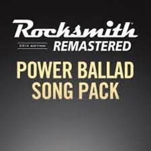 Rocksmith 2014 Power Ballad Song Pack