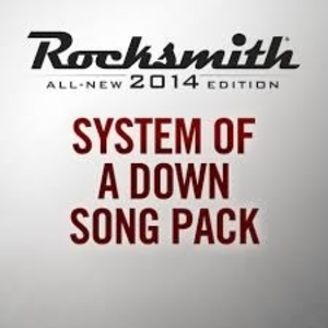 Rocksmith 2014 System of a Down Song Pack