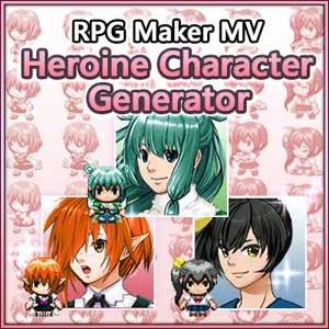 RPG Maker MV Heroine Character Generator