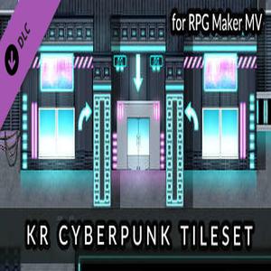 RPG Maker MV KR Cyberpunk Tileset