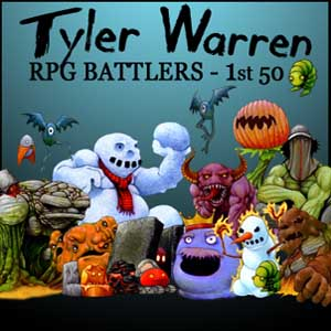 RPG Maker Tyler Warren First 50 Battler Pack Digital Download Price Comparison
