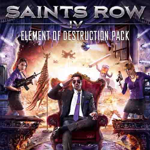 Saints Row 4 Element Of Destruction Pack Digital Download Price Comparison