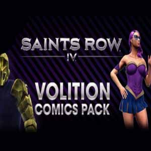 Saints Row 4 Volition Comic Pack Digital Download Price Comparison