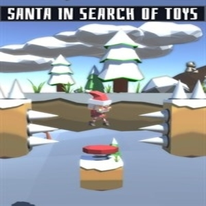 Santa in search of toys