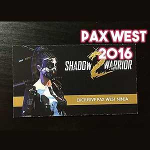 Shadow Warrior 2 Pax West Ninja Digital Download Price Comparison