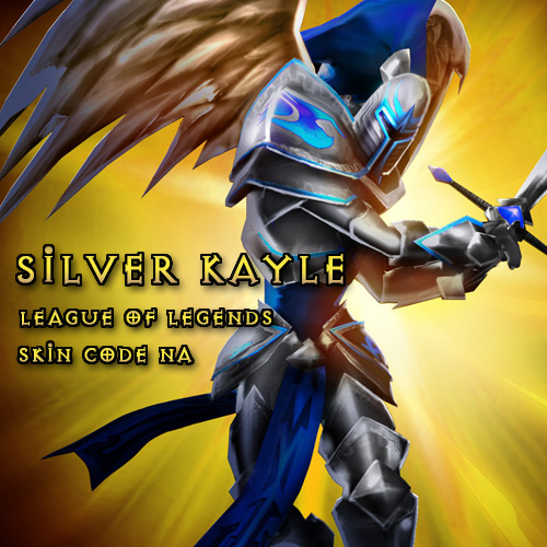 Silver Kayle League Of Legends Skin Code NA Gamecard Code Price Comparison