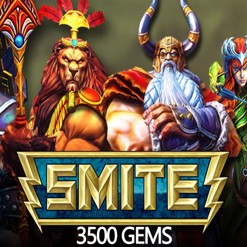 SMITE 3500 Gems Gamecard Code Price Comparison