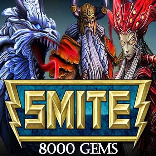 SMITE 8000 Gems Gamecard Code Price Comparison
