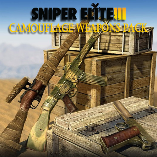 Sniper Elite 3 Camouflage Weapons Pack Digital Download Price Comparison