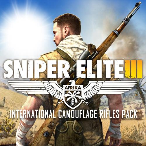 Sniper Elite 3 International Camouflage Rifles Pack