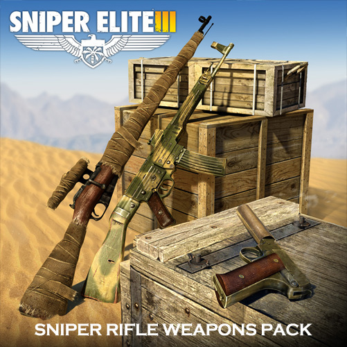 Sniper Elite 3 Sniper Rifle Weapons Pack Digital Download Price Comparison