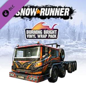 SnowRunner Burning Bright Vinyl Wrap Pack Digital Download Price Comparison