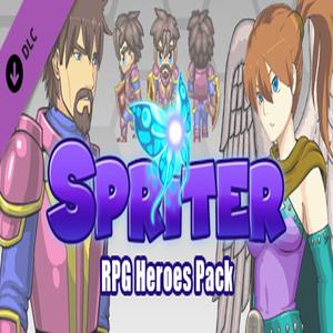 Spriter RPG Heroes Pack